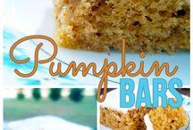 Pumpkin Desserts / Everything Pumpkin for the best months of the year!