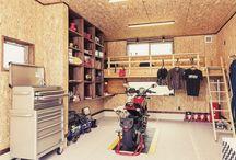 DIY 車庫