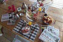 Ontbijt / Ieder ontbijt is hier anders, ook al blijft een gast 2 weken, het is geen dag hetzelfde!