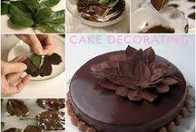 Dorty ovocné čokoládové krémové