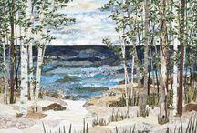 landscape quiltning
