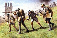 Stosstruppen and freikorps. WW I special unit