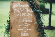 rustic garden wedding decoration