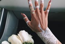 Henna. / For the weeding.