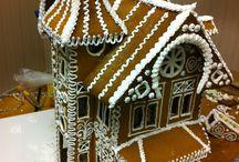 Pepparkakshus Gingerbread house / Pepparkakshus  peparkaka gingerbread house model