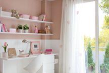 Habitación con decoración