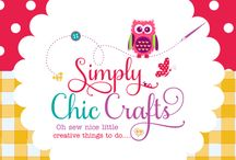 "Simply Chic Crafts / ""Oh sew nice little creative things to do....."" Sewing, Printable's and more... http://www.simplychiccrafts.com/"