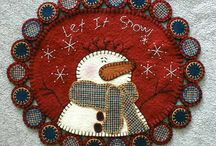 SNOWMEN / by joan lavender