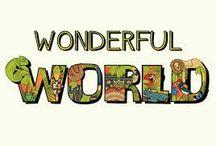 Wonderful World's / New Board