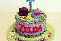 Gâteaux Zelda et star wars