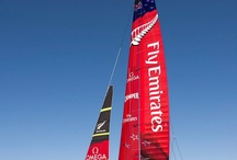 Emirates team New Zealand ac72 / Team new Zealand's 34th America's cup yacht - ac72