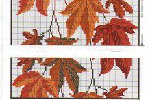výšivka - jeseň