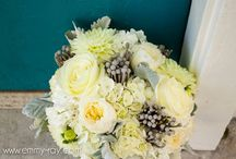 Silver and White Wedding / A classic wedding palette of silver, grey, and white, with metallic touches.