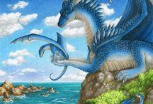 Dragons, myths, fairies, adventure.