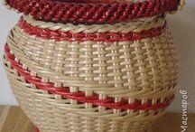 Pleteni z papiru KOŠÍKY
