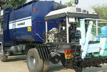 Bitumen Pressure Distributor - Sprayer / Bitumen Pressure Distributor - Solid India Ltd. - Manufacture & Exporter of Road Equipments