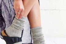 靴下コーデ / 冷えとり靴下のために。。