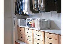 Armazenamento de armário
