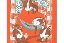 Collective Nouns / Collective Noun prints by Charlie Sutcliffe