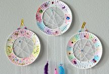 Dream catchers and children's crafts