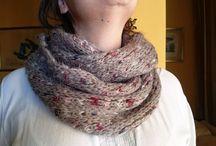 Bufandas y cuellos / Cuellos de mujer modernos