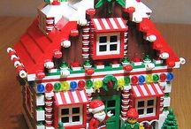 Lego Seasonal buildings / Christmas, Easter, birthday builds