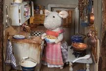 Lovely mouse house