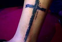 Ankare med kors ibakgrund? Heb 6:19 / tat idee: ankare i förgrund, 2 skuggade kors i bakgrund. Heb:6:19 i romerska sifror