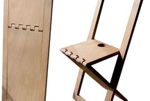Fold, Designproject / Designproject - Foldable seating