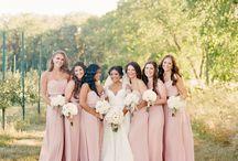 Bride's maids dresses