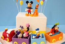 Minnie B-day cake