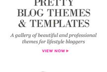 Pretty My Blog with Themes