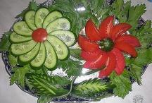 ozdoby zo zeleniny