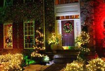 Christmas Light Lovers / For those of you that wish we hung Christmas lights all year long. And those of you that just need a few decorating ideas for the holiday season.