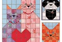 Katte tæpper.