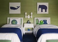 DECOR - KIDS / Children's bedroom and bathroom ideas.  Modern, eclectic and fun.  Geared toward boys