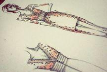 Fashion Draw / Meus desenhos! #fashiondraw