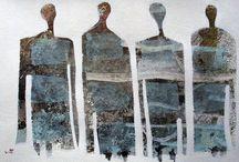 S.BERGEY / D.J.BERGER/ T.BLUEFIELD / Artistes Contemporains