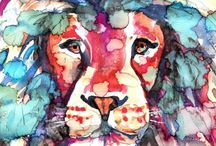 Watercolor inspiration / Taking up a new hobby! :D