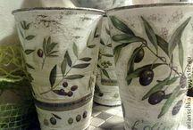 Оливковая роща / Наброски для оливковой недели