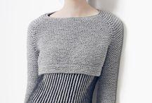 кроп-свитер