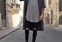 Street Style-Herrenmode
