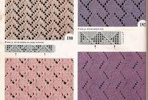 узоры вязания спицы