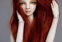 Bambole in pasta modellabile sintetica