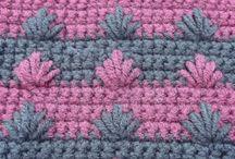 Haak steken / crochet stitches