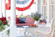 4th of July:: Home Decor