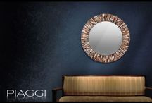 Roulette Contemporary Mirorrs / Contemporary mirrors by Piaggi