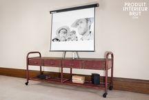 Buffets et Meubles TV / Dans ce tableau, des incontournables pour meubler votre salon et lui donner un style sans pareil !