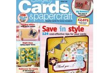 Craft Magazines / Craft mags for cardmaking and crafting inspiration