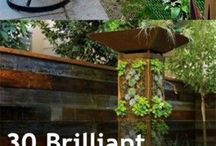 Gardening small spaces